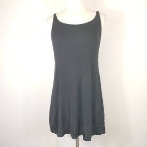 Eileen Fisher 100% Silk little Black Dress Tunic